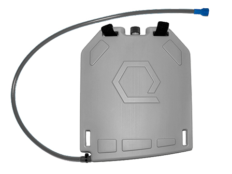 Qore Performance IcePlate Cooling/Hydration Plate (Color: Grey)