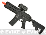 ICS Metal Receiver CXP-15 Keymod Airsoft AEG Rifle with Crane Stock - Black