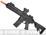 ICS PAR MK3 Carbine 10.5 Proarms Armory Licensed Proline EBB Airsoft AEG Rifle (Color: Black)