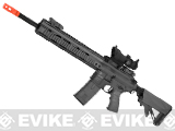 ICS PAR MK3 Carbine 16.75 Proarms Armory Licensed Proline EBB Airsoft AEG Rifle - Black