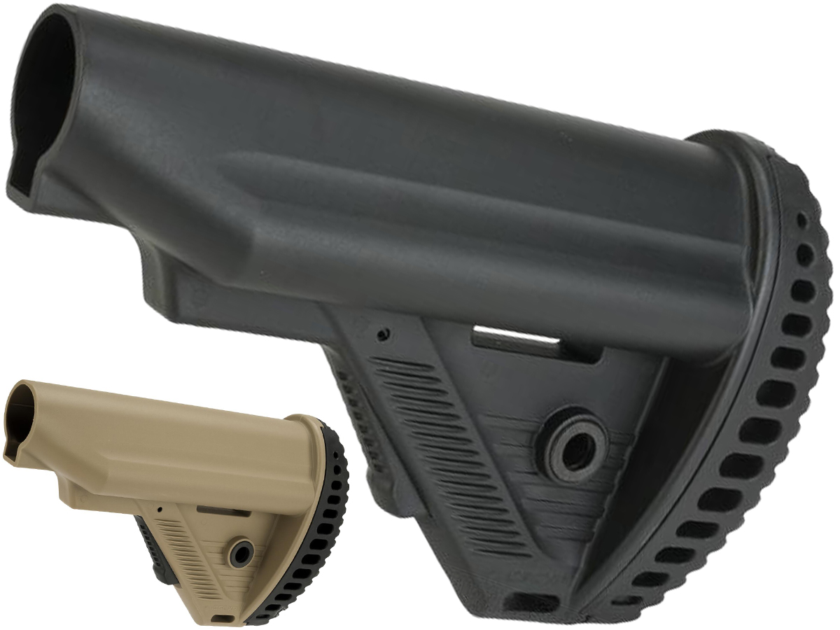 ICS MTR S1 Tactical Retractable Stock for M4/M16 Series Airsoft AEGs