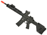 ICS CXP HOG Tubular Handguard M4 Electric Blowback Airsoft AEG Rifle w/ UKSR Fixed Stock
