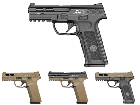 ICS BLE-XAE Ambidextrous Duty Size GBB Airsoft Pistol (Color: Black)
