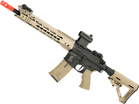 ICS CXP-MARS Carbine Full Metal M4 Airsoft AEG (Color: Black / Tan)