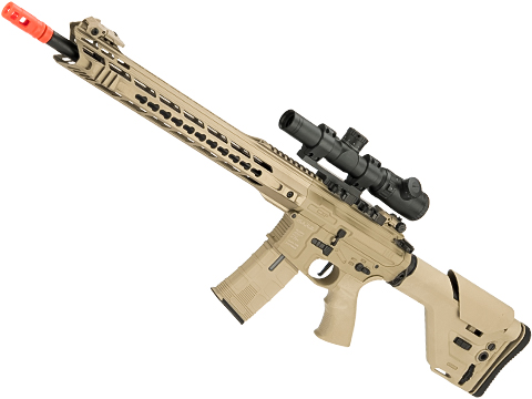 ICS CXP-MARS Full Metal DMR Airsoft AEG (Color: Tan)