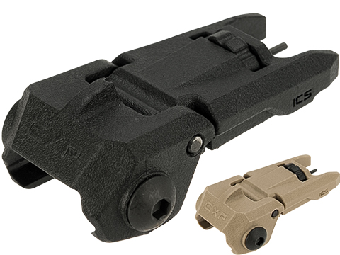ICS OEM Replacement MARS / CFS Folding Polymer Backup Front Sight