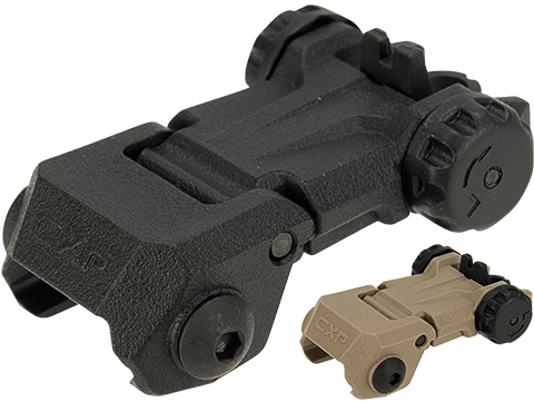 ICS OEM Replacement MARS / CFS Folding Polymer Backup Rear Sight