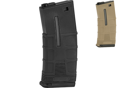 ICS T Tactical Mid-Cap 120rd TMAG Magazine for M4 / M16 / L85 Airsoft AEG Rifles (Color: Black)
