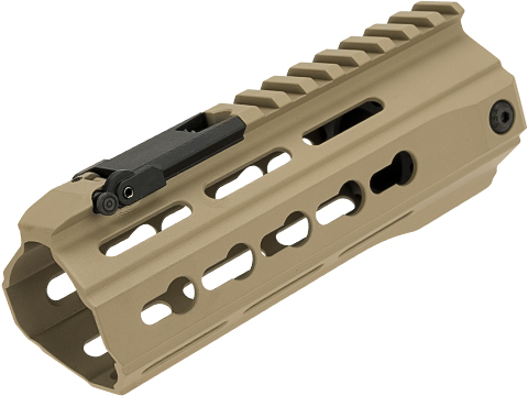 ICS CXP-UK1 Captain CQB KeyMod Handguard for M4 Series AEG's (Color: Tan)