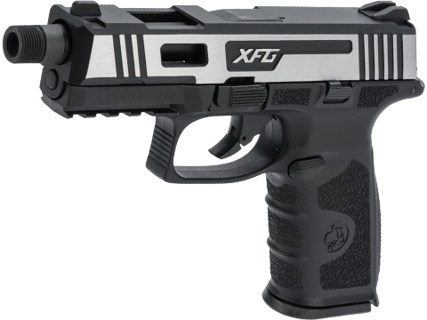 ICS BLE-XFG Ambidextrous Airsoft Gas Blowback Pistol (Color: Hairline)