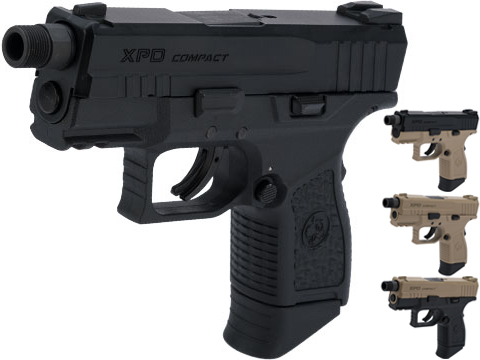 ICS BLE-XPD Ambidextrous Airsoft Gas Blowback Pistol