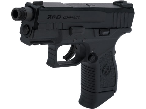ICS BLE-XPD Ambidextrous Airsoft Gas Blowback Pistol (Color: Black)