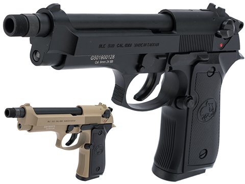 ICS BLE BM9 Gas Blowback Airsoft Pistol