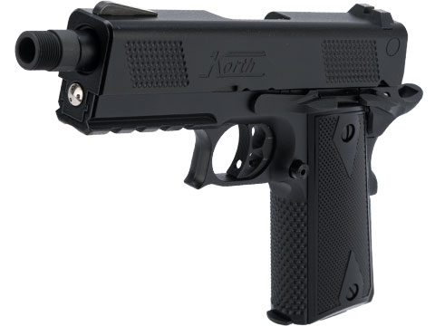 ICS Korth Licensed PRS Airsoft Gas Blowback Pistol