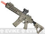 ICS CXP HOG Keymod airsoft AEG (Color: Tan / Front Wired)