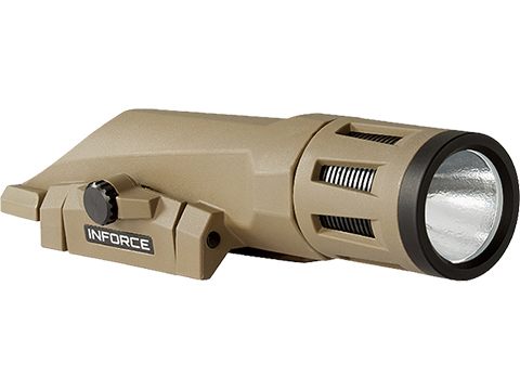 InForce WMLX Multifunction Weapon Mounted Light (Color: Flat Dark Earth / 800 Lumen)