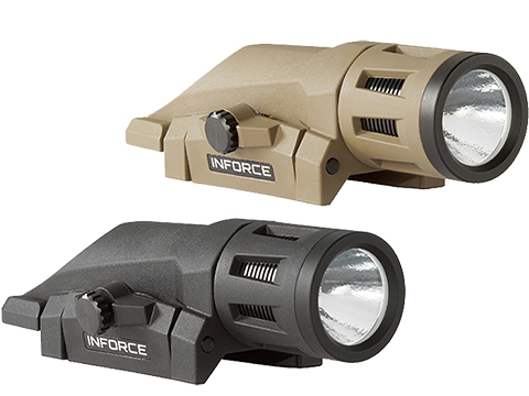 InForce WML Weapon Mounted Multifunction White LED Tactical Light