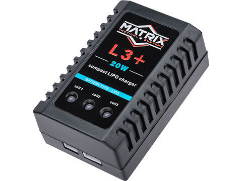 Matrix Lipo 3+ Compact 1-3 Cell LiPo / Li-Ion Smart Balance Charger