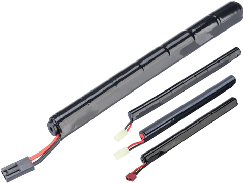 Intellect NiMH Stick Type Airsoft Battery for Airsoft AEGs (Configuration: 8.4v 1600mAh / Small Tamiya)