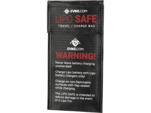 Evike.com Lipo Safe Charging and Travel Bag for Lithium Polymer Batteries (Size: 4 x 7.8 Envelope)