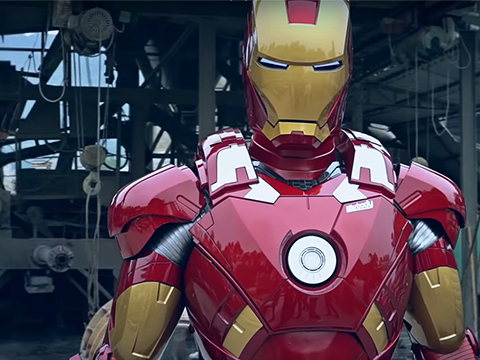 Killerbody Marvel Licensed Iron Man Mk. VII Motorized Wearable Suit w/ Working LED's & Sounds - Advanced, Limited Edition