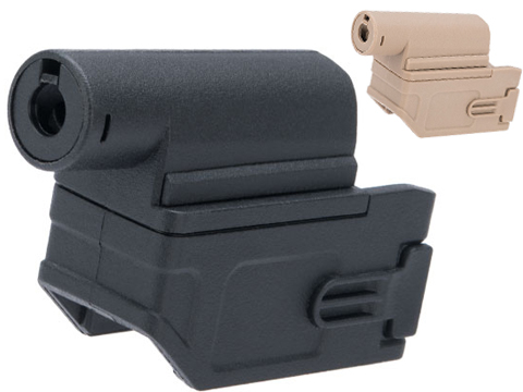 Matrix M4 to M870 AEG Magazine Adapter for Tokyo Marui Spec Airsoft Shotguns (Color: Black)