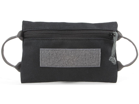 ITS Imminent Threat Solutions Zip Bag (Model: Canvas / Midnight Black)