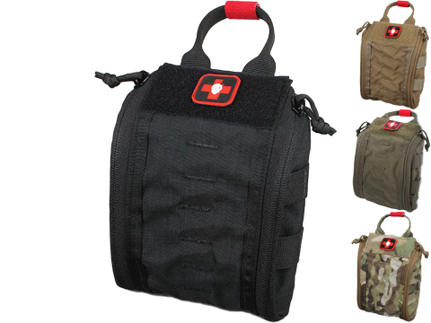 ITS Imminent Threat Solutions ETA Trauma Kit Pouch Fatboy (Color: Black)