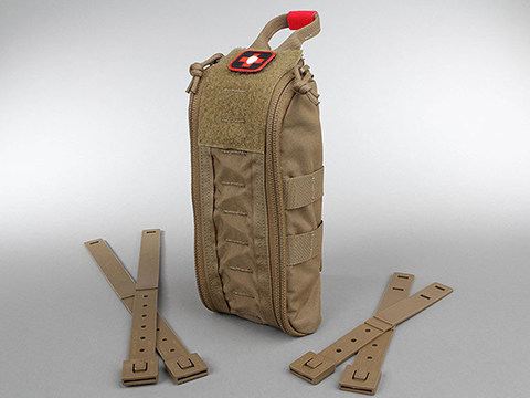 ITS Imminent Threat Solutions ETA Trauma Kit Pouch Tallboy (Color: Coyote)