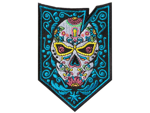 ITS Imminent Threat Solutions Morale Patch (Model: Dia De Los Muertos / Glow in the Dark)