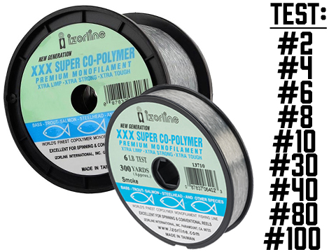 Izorline XXX Super Copolymer Premium Monofilament Fishing Line