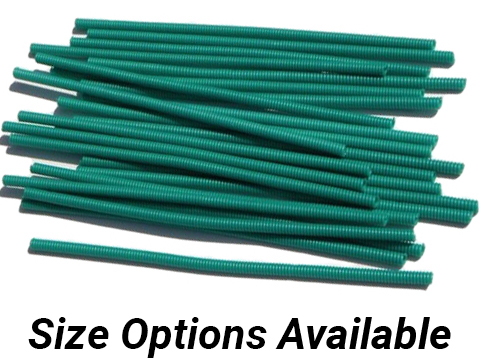 Izorline Pre-Cut Coated Line Protection Springs (Size: 1.4mm / 60-100lb Test)
