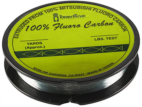 Izorline Premium Fluoro Carbon Leader (Test: 25lb / 25 Yards)