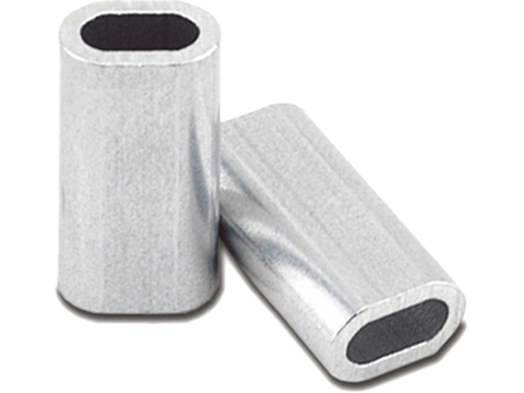 Izorline Super Single Aluminum Sleeves (Test: 200lb / Long)