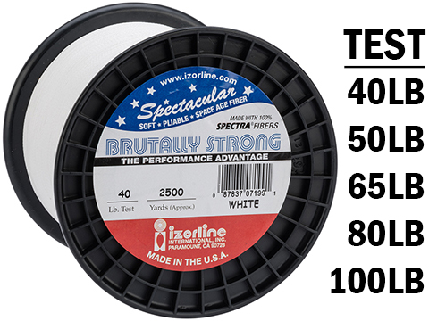 Izorline Brutally Strong Spectra Braided Fishing Line