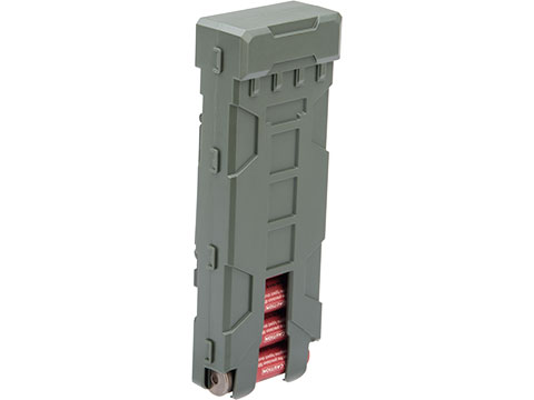 JAG Arms 10 Round MOLLE Polymer Shotgun Shell Carrier (Color: OD Green)