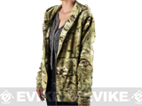 Emerson Warm Fleece Women's Jacket - Land Camo / Medium