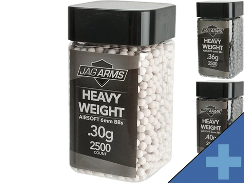 JAG Armament Heavyweight Match Grade 6mm Airsoft BBs