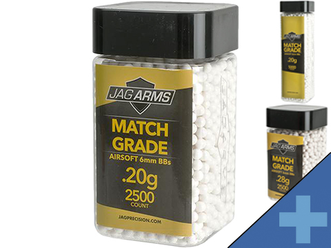 JAG Armament Match Grade 6mm Airsoft BBs