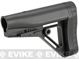 JAG Arms Large Capacity Adjustable Stock for M4/M16 Series Airsoft Rifles- Black