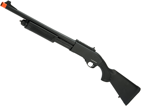 JAG Arms Gas Scattergun Airsoft Shotgun (Model: HD / Black)