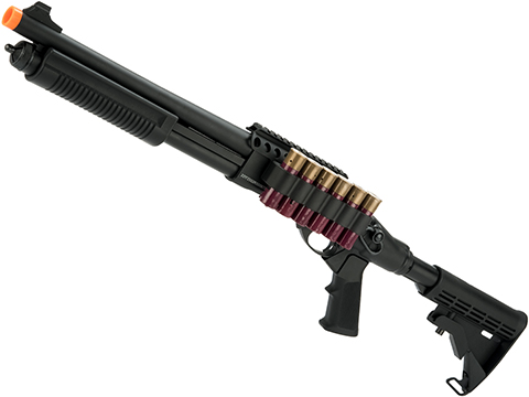 JAG Arms Gas Scattergun Airsoft Shotgun (Model: TSS / Black)