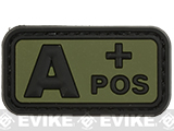 A Postitive  PVC Patch - Green