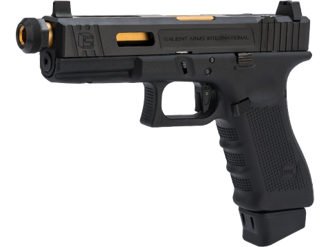 EMG / Elite Force Fully Licensed SAI Tier 1 GLOCK 17 Gen. 4 Gas Blowback Airsoft Pistol (Steel Slide)