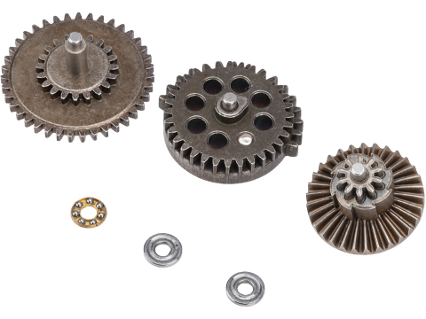 JG / ASP / GE Reinforced High Torque Steel Gear Set for V.2 / V.3 Airsoft AEG Gearbox