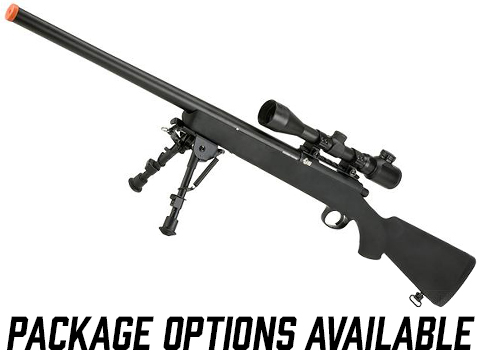 JG VSR-10 / BAR-10 Airsoft Bolt Action Sniper Rifle w/ Metal Trigger Box - 500 FPS (Package: Rifle)