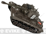 1:20 Scale RC Airsoft Battle Tank (Color: Pershing / Brown)