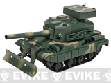 Miniature RC Airsoft Battle Tank - Type 3 (Green / Tan Camo)