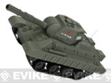 Miniature RC Airsoft Battle Tank - Type 7 (OD Green)