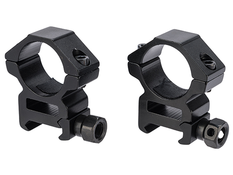Matrix Aluminum Scope Mounting Rings (Type: 1 Tube / Short)